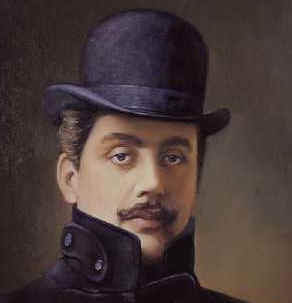 Giacomo Puccini   -  Puccini was born in Lucca on the 22nd of December 1858, he was the last of the great Italian composers. Puccini, along with his brother Michele, who died young, were the fifth generation of a family of professional musicians and composers, living and working in and around Lucca, Tuscany Italy. All the previous generations of Puccini's were basically church composers and organists at Lucca's Cathedral - San Martino.