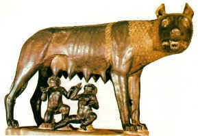 Romulus and Remus - The Roman Twins